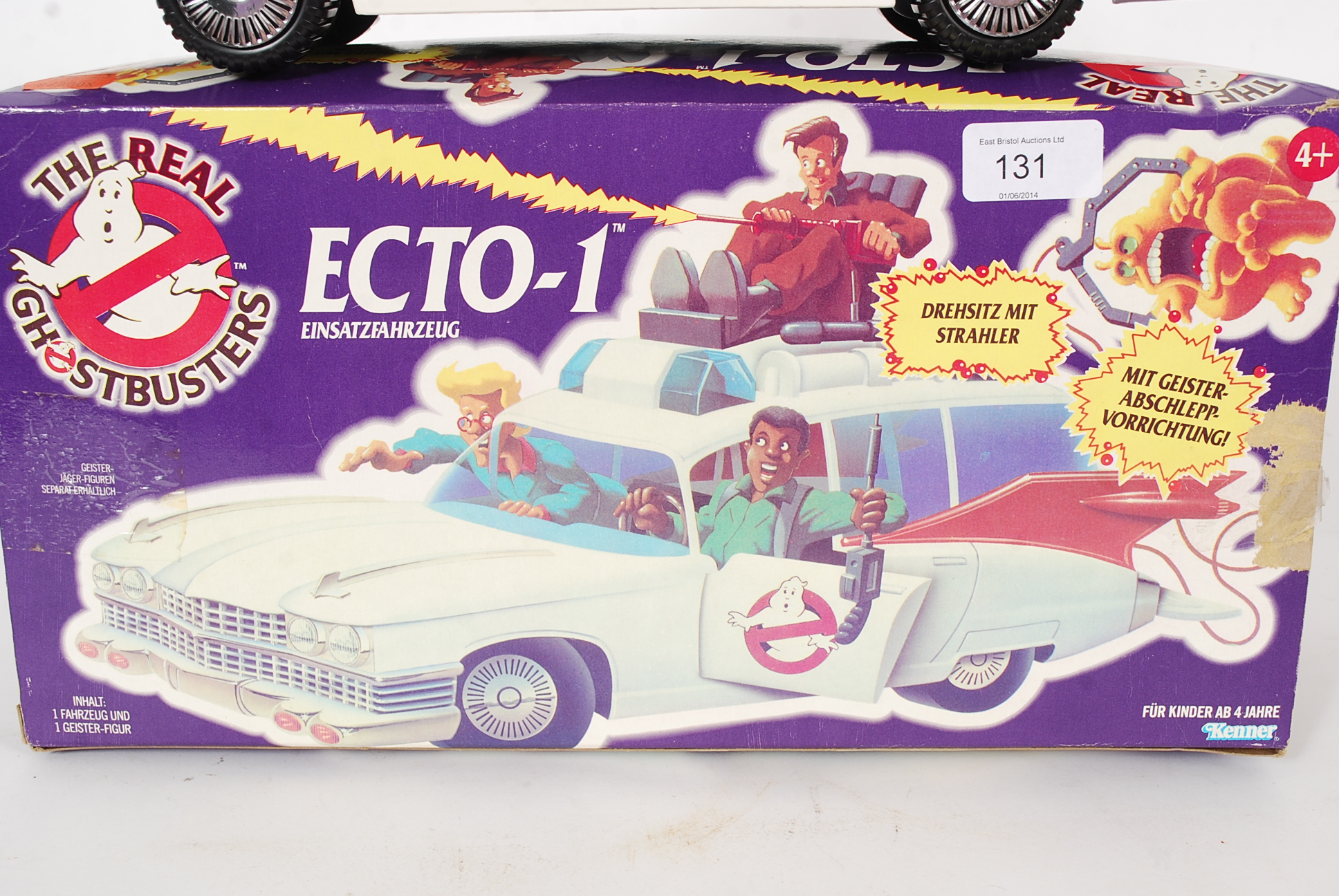 KENNER An original The Real Ghostbusters Ecto 1 car by Kenner in