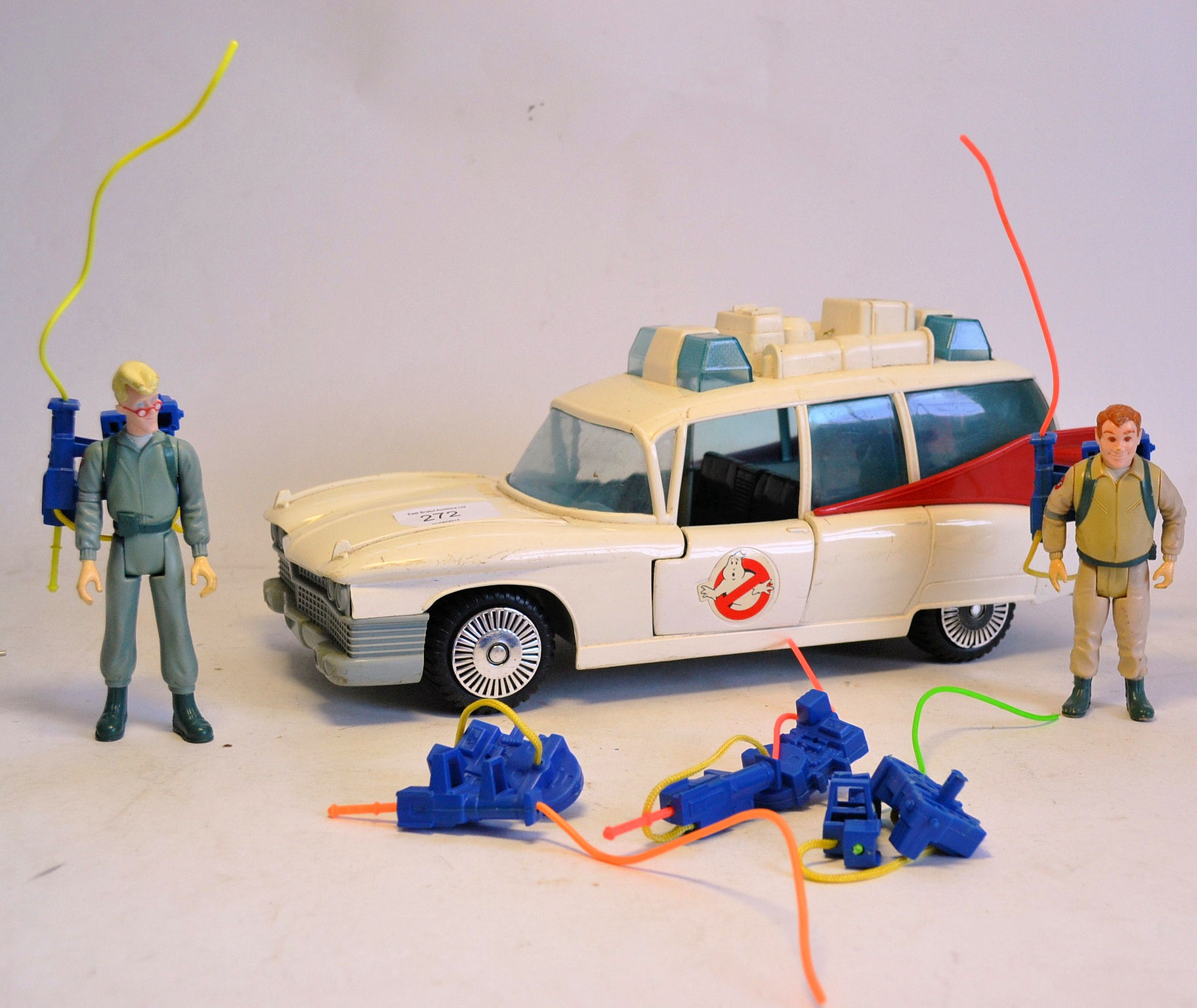 KENNER A collection of retro The Real Ghostbusters toys