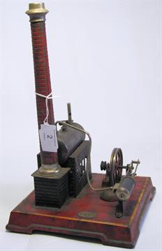 A vintage steam engine by Jose...