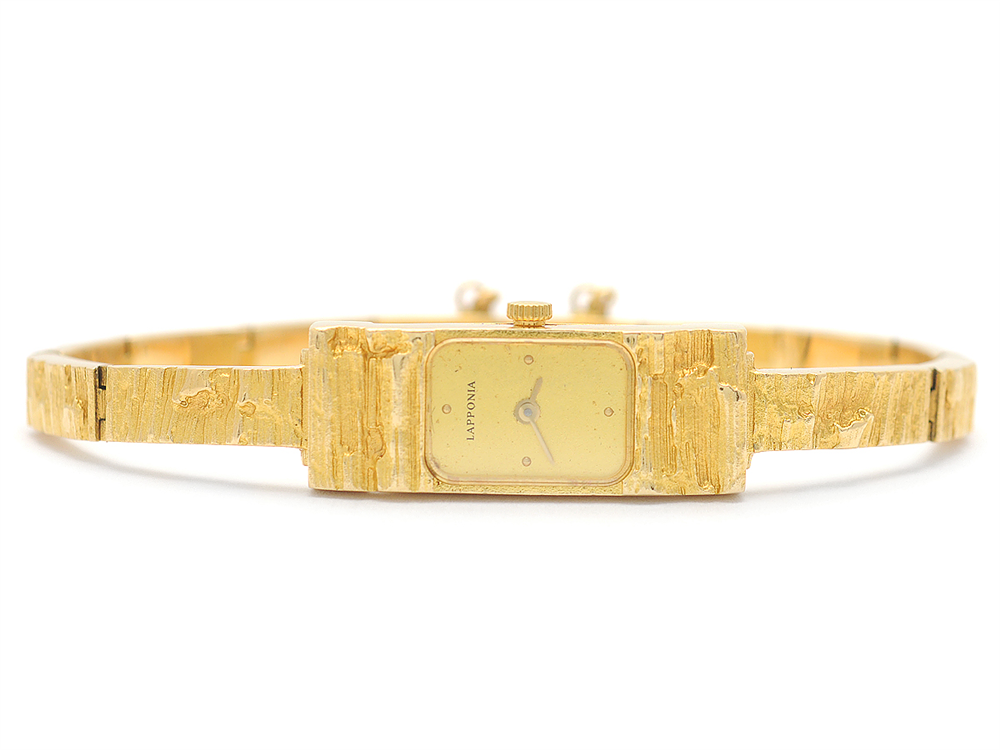 Lapponia gold watch