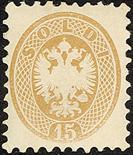 Lombardo Veneto V emissione 1864/65 La serie - Certificati Bolaffi