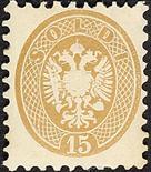 Lombardo Veneto V emissione 1856/64 15 s. bruno nuovo + II emissione 2 s. giallo I tipo usato - Da