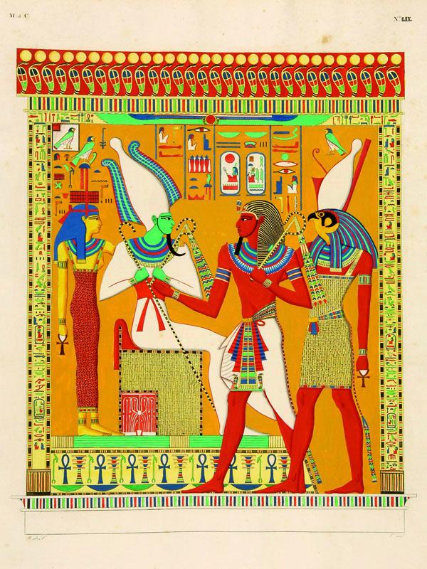 Lotto 558 - Egitto Rosellini, Ippolito. I monumenti dell'Egitto e della Nubia, disegnati dalla spedizione