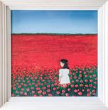 Ross Muir `Sanctuary` Acrylic on Canvas 25cm x 25cm Signed and framed Photo to follow