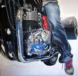 Mike Brown `The Dreamer` Photo Realism Acrylic on Canvas 100cm x 100cm signed and unframed by