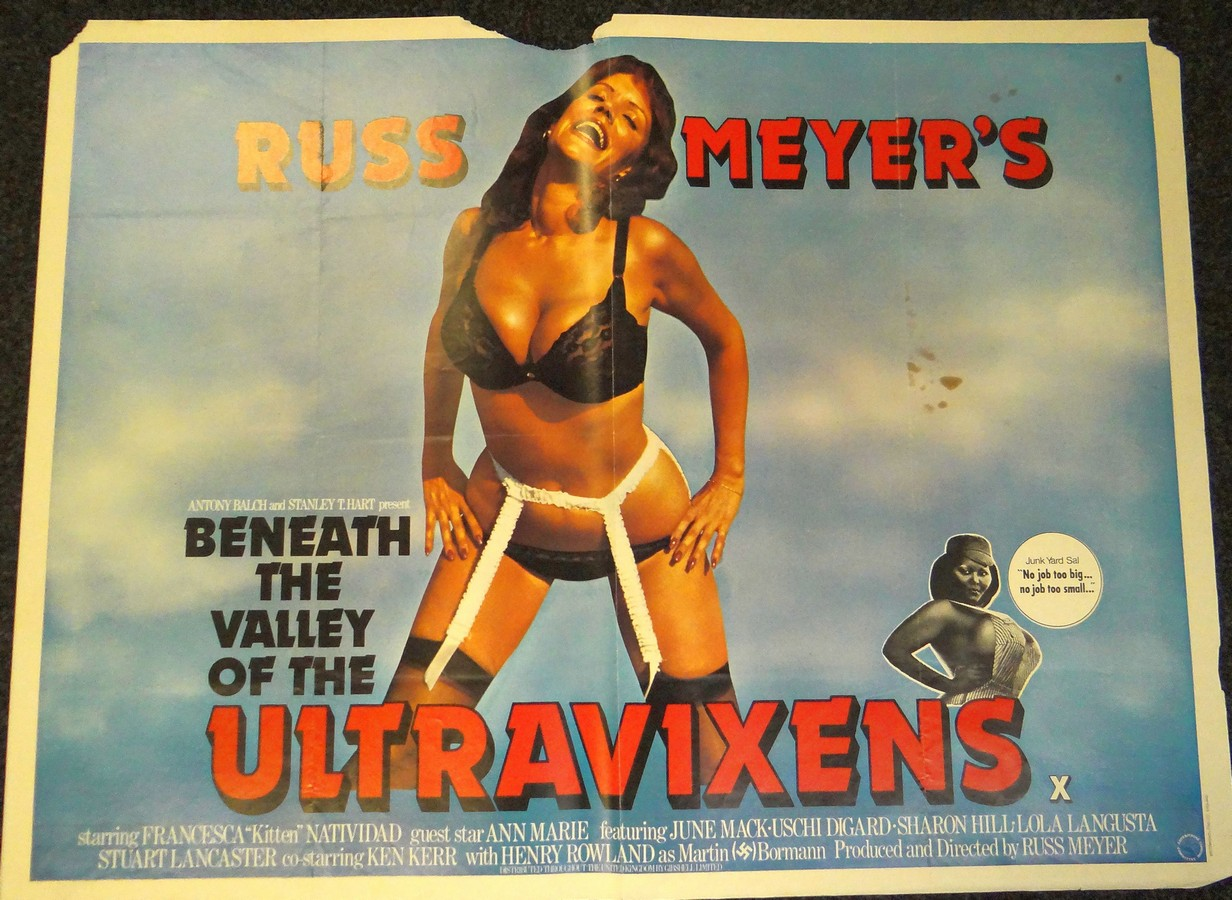 Beneath The Valley Of The Ultra Vixens Watch beneath the valley of the ultra-vixens (1979) uk quad, 30is