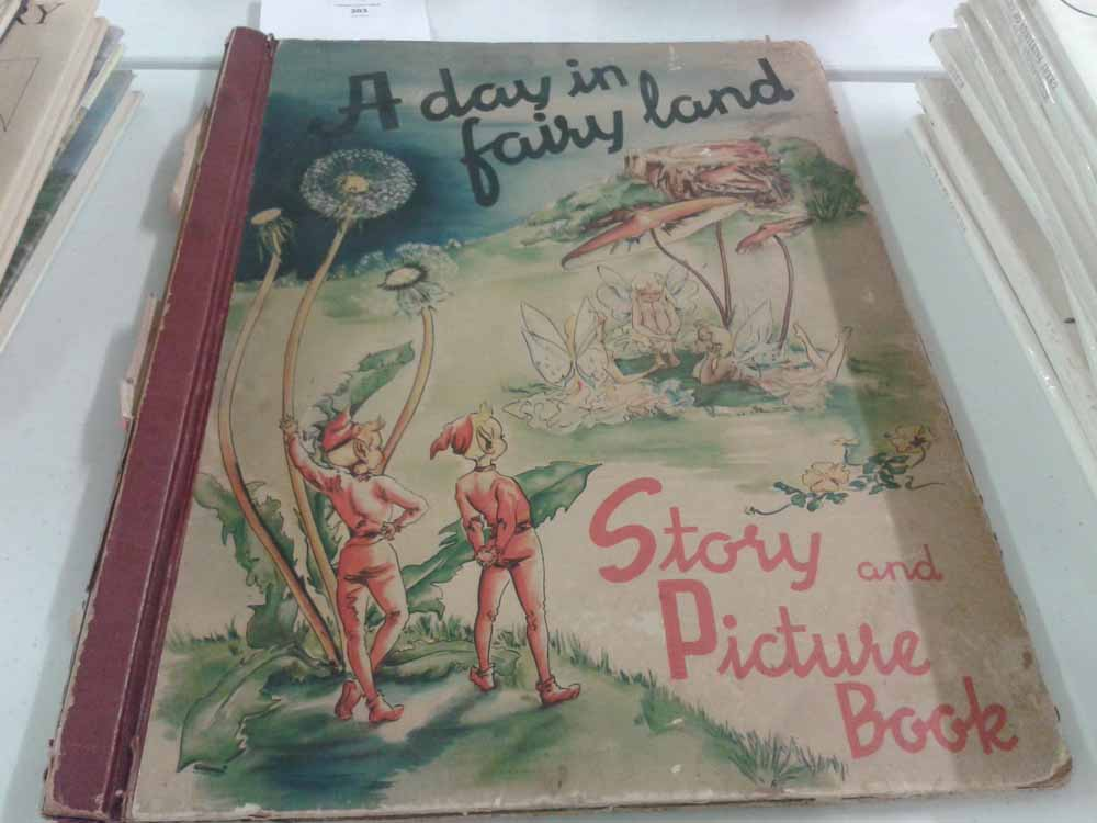 A Day In Fairyland Story And Picture Book A3 Size By Sigrid