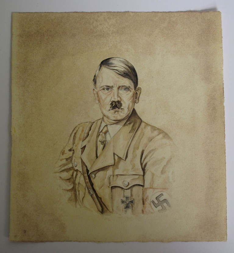 adolf hitler paper 3 Many times but what was actually written on the paper and does it still exist   chamberlain-3-1315ab9 september 29  it was, in fact, a private accord, signed  earlier that day by chamberlain and hitler its three short.