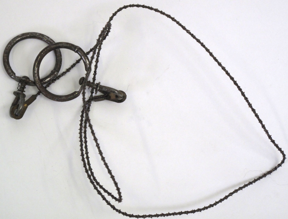 ... Wire used to kill enemy soldiers without any noise during raids behind