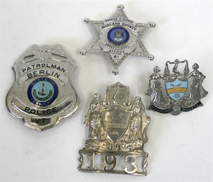 dating police badges