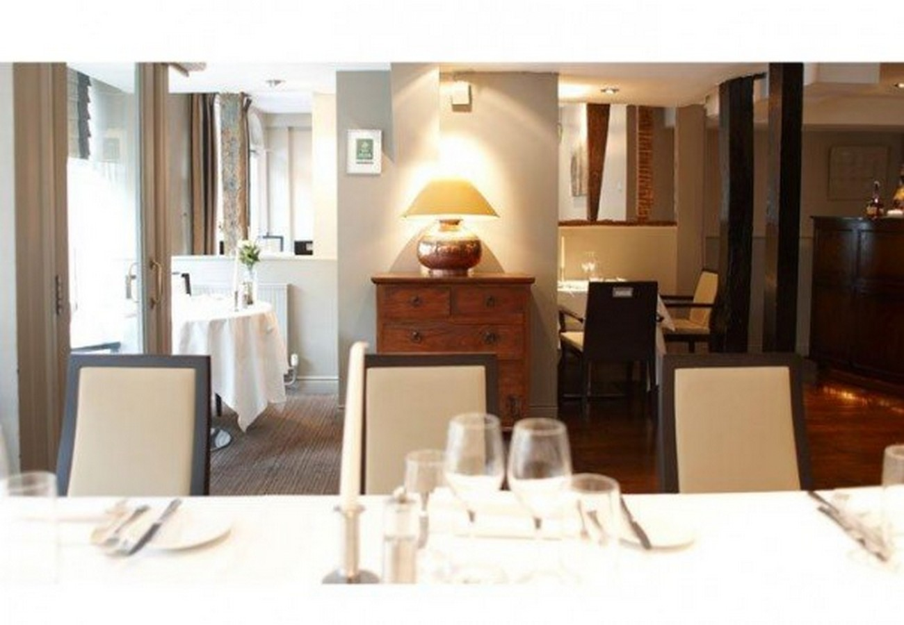 Lot 13 - Dinner for 2 at Maison Bleue - Dinner with Champagne for two at Maison Bleue, Bury St Edmunds. A