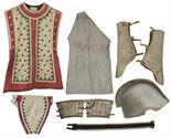 ``Ben-Hur`` Athenian Charioteer Costume Worn Onscreen in The Legendary Chariot Race Scenes -- One of