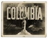 Columbia Pictures Trademark Photo Labeled ``new trade mark`` -- Circa 1936 Vintage photo of the