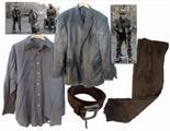 Robert Duvall Screen-Worn Tattered Wardrobe From Post-Apocalyptic Drama ``The Road`` Robert Duvall`s