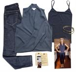 Jenna Elfman Screen-Worn Wardrobe Ensemble From ``1600 Penn`` -- With Wardrobe Department`s Tag,