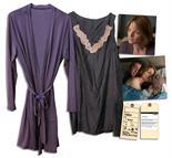 Jodie Foster Screen-Worn Silk Nightgown & Robe From Her Directorial Endeavor ``The Beaver`` Jodie
