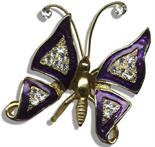 Mouseketeer Annette Funicello Personally Owned & Worn Butterfly Brooch Annette Funicello`s