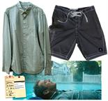 Mel Gibson Screen-Worn Costume From the 2011 Drama ``The Beaver`` Mel Gibson screen-worn costume