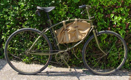 1943 WW2 BSA Airborne Bicycle  Antique Vintage Bicycle  To