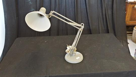 A Norway Grey Poseable Desk Lamp 1001 Lamps London Se12