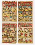 Lot 25 - Beano consecutive front cover printer`s proofs (1946) 295, 296, 297, 298 (4)