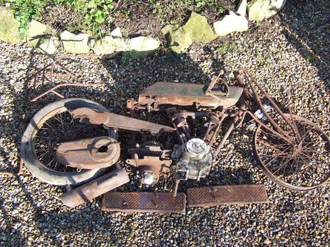 A 1920s Matchless 1000cc V Twin Motorcycle Restoration Project