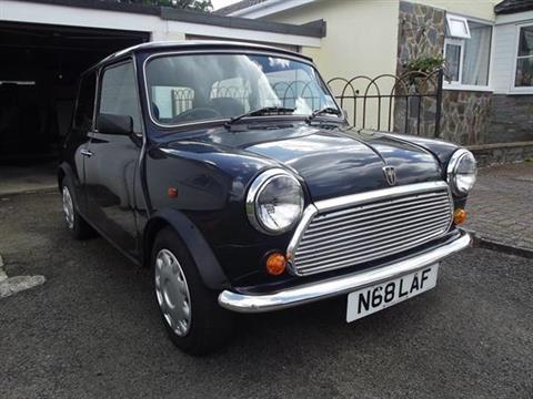 Click Here To Bid 160160a 1996 Rover Mini Equinox Limited