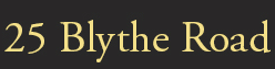 25 Blythe Road