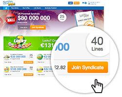 Choosing a lottery syndicate