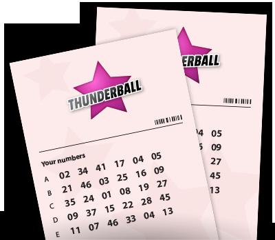 UK Thunderball Tickets