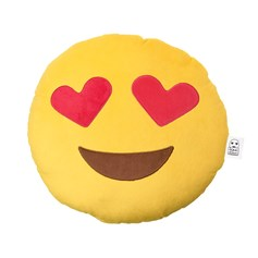 Heart Eyes emoji Cushion | emoji® Cushion