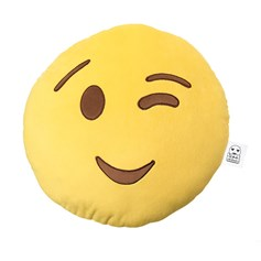 Wink Wink emoji Cushion | emoji® Cushion