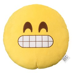 Cheesy Grin emoji Cushion | emoji® Cushion
