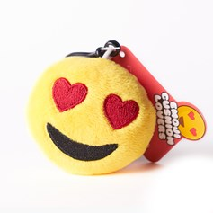 Heart Eyes emoji Key Ring | Mini emoji® Key Chain