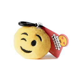 Wink Wink emoji Key Ring | Mini emoji® Key Chain