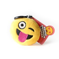 Tongue Wink emoji Key Ring | Mini emoji® Key Chain