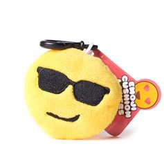 Stay Cool Cheeky emoji Key Ring | Mini emoji® Key Chain