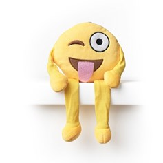 Tongue Wink emoji Shelf Buddy | emoji® Shelf Buddy