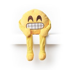 Cheesy Grin emoji Shelf Buddy | emoji® Shelf Buddy