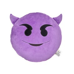 Horny Devil emoji Cushion | emoji® Cushion
