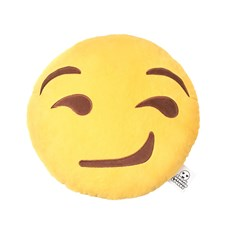 Smirk emoji Cushion | emoji® Cushion