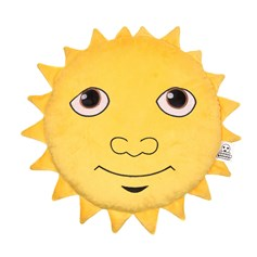 Sunshine emoji Cushion | emoji® Cushion