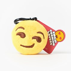 Smirk emoji Key Ring | Mini emoji® Key Chain