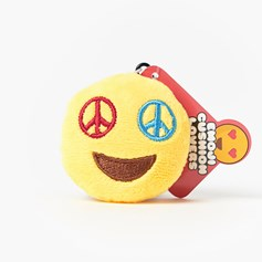 Peace emoji Key Ring | Mini emoji® Key Chain