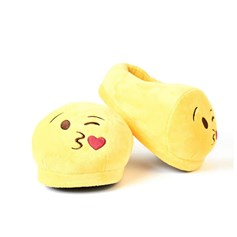 Blow a Kiss emoji Foot Cushion | emoji® Foot Cushions