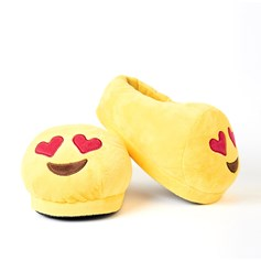 Heart Eyes emoji Foot Cushion | emoji® Foot Cushions