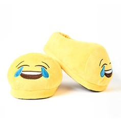 Crying with Laughter emoji Foot Cushion | emoji® Foot Cushions
