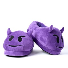 Horny Devil emoji Foot Cushion | emoji® Foot Cushions