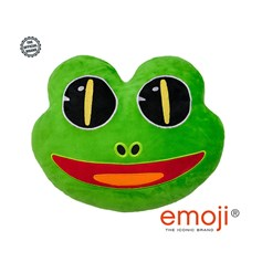 Frog emoji® Brand Cushion | Official Licensed Product