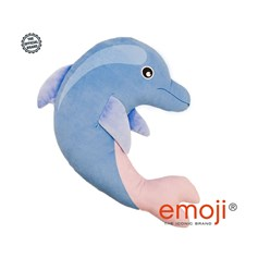 Dolphin emoji® Brand Cushion | Official Licensed Product